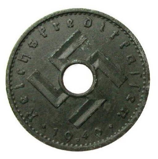 World war ii coins and currency.